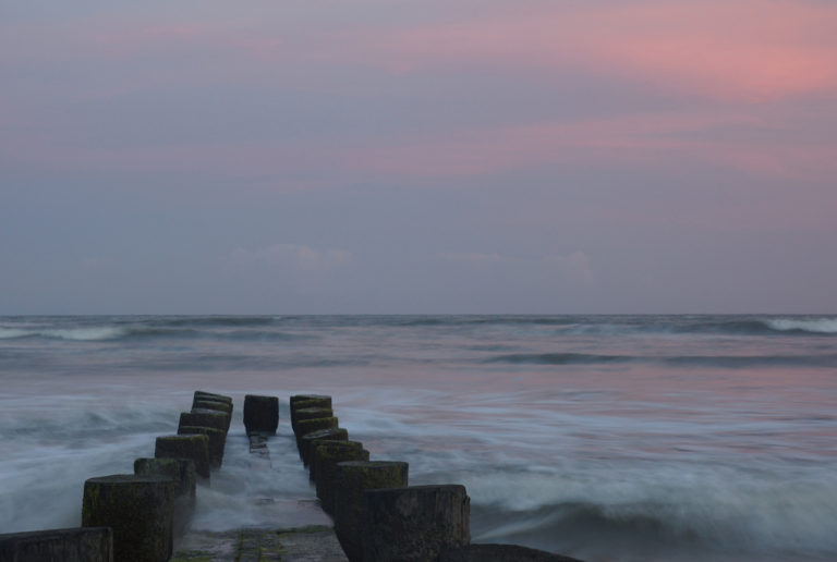 Sunset and Pier taken by CloseUp Images