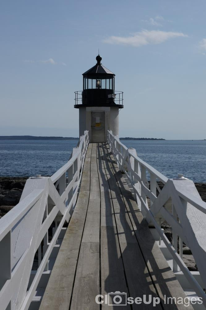 Marshall Point Lighthouse. CloseUp Images