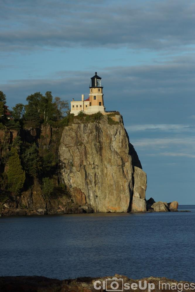 Split Rock Lighthouse by CloseUp Images