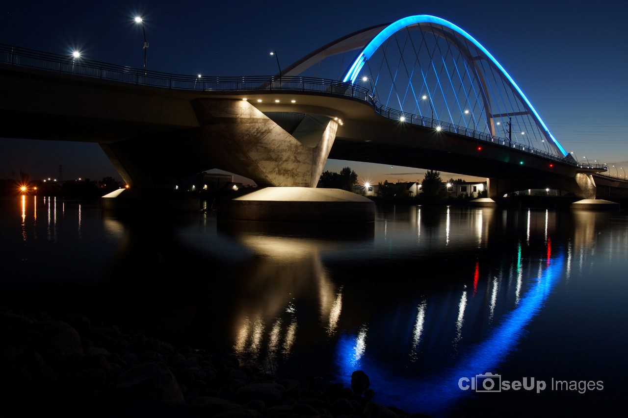 Lowry Ave Bridge at Night