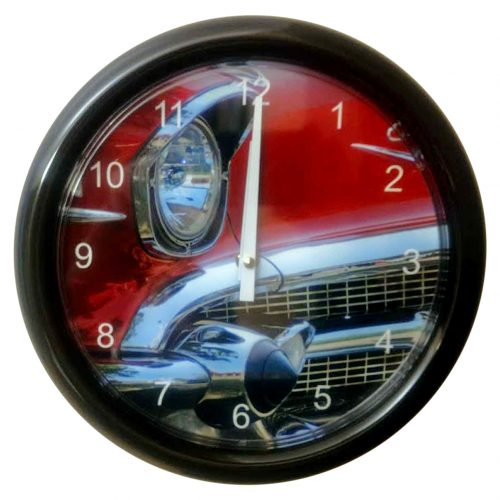 Photo Clock - Red Car